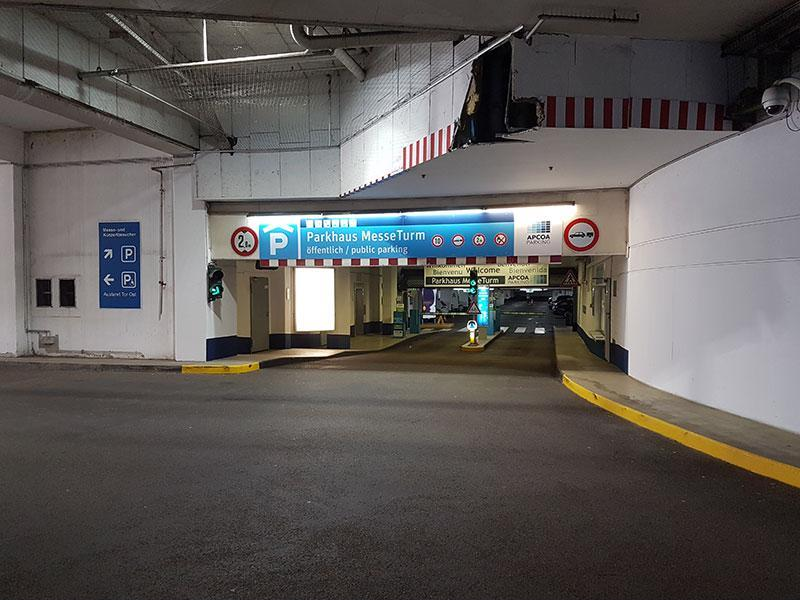 Parking In Messeturm Apcoa Parking