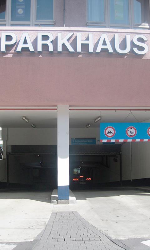 Parken In Ladengalerie Bockenheimer Warte Apcoa Parking