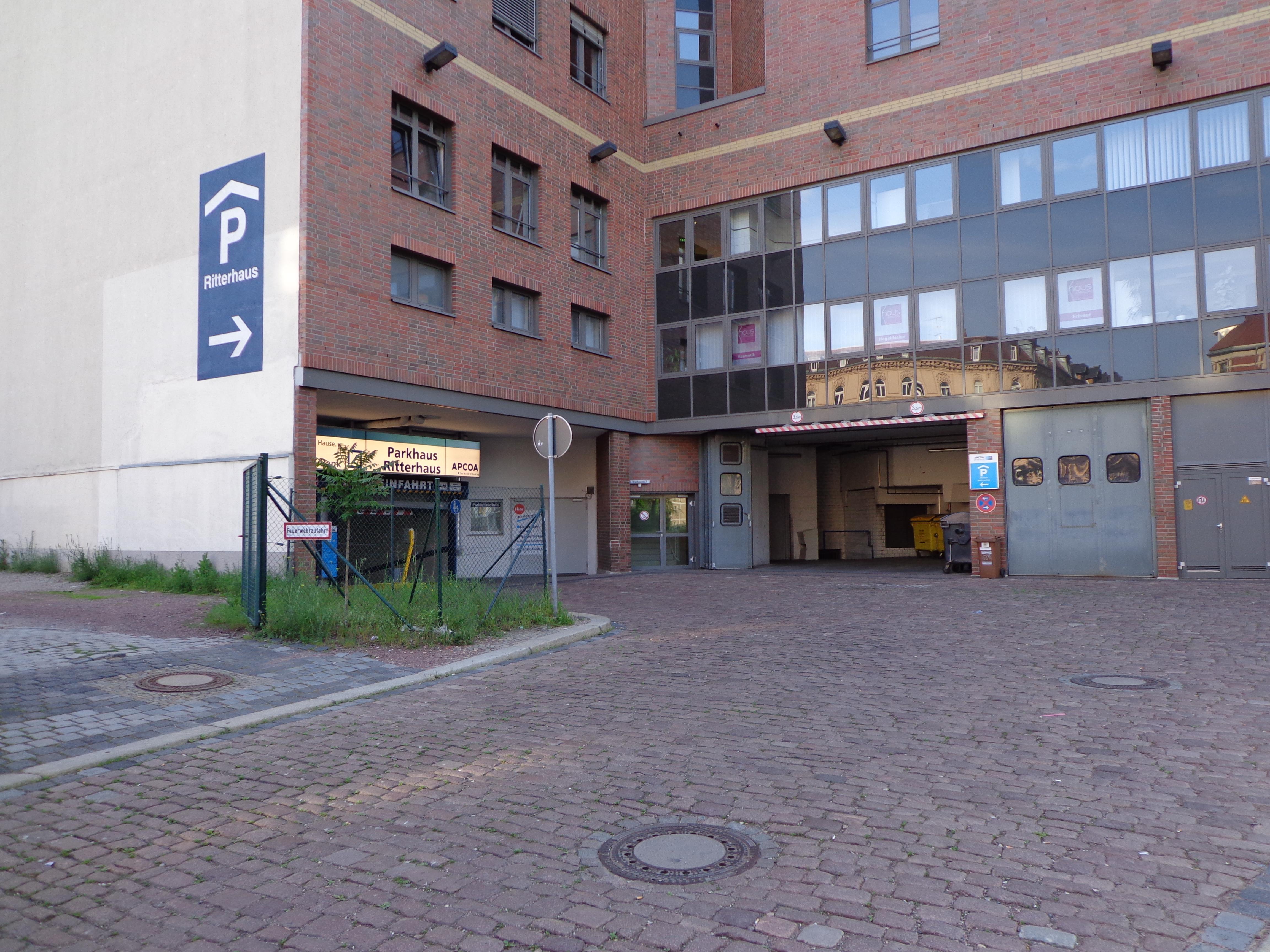 Parken In Ritterhaus Apcoa Parking