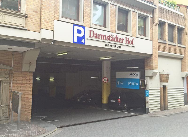 Parken In Darmstadter Hof Apcoa Parking