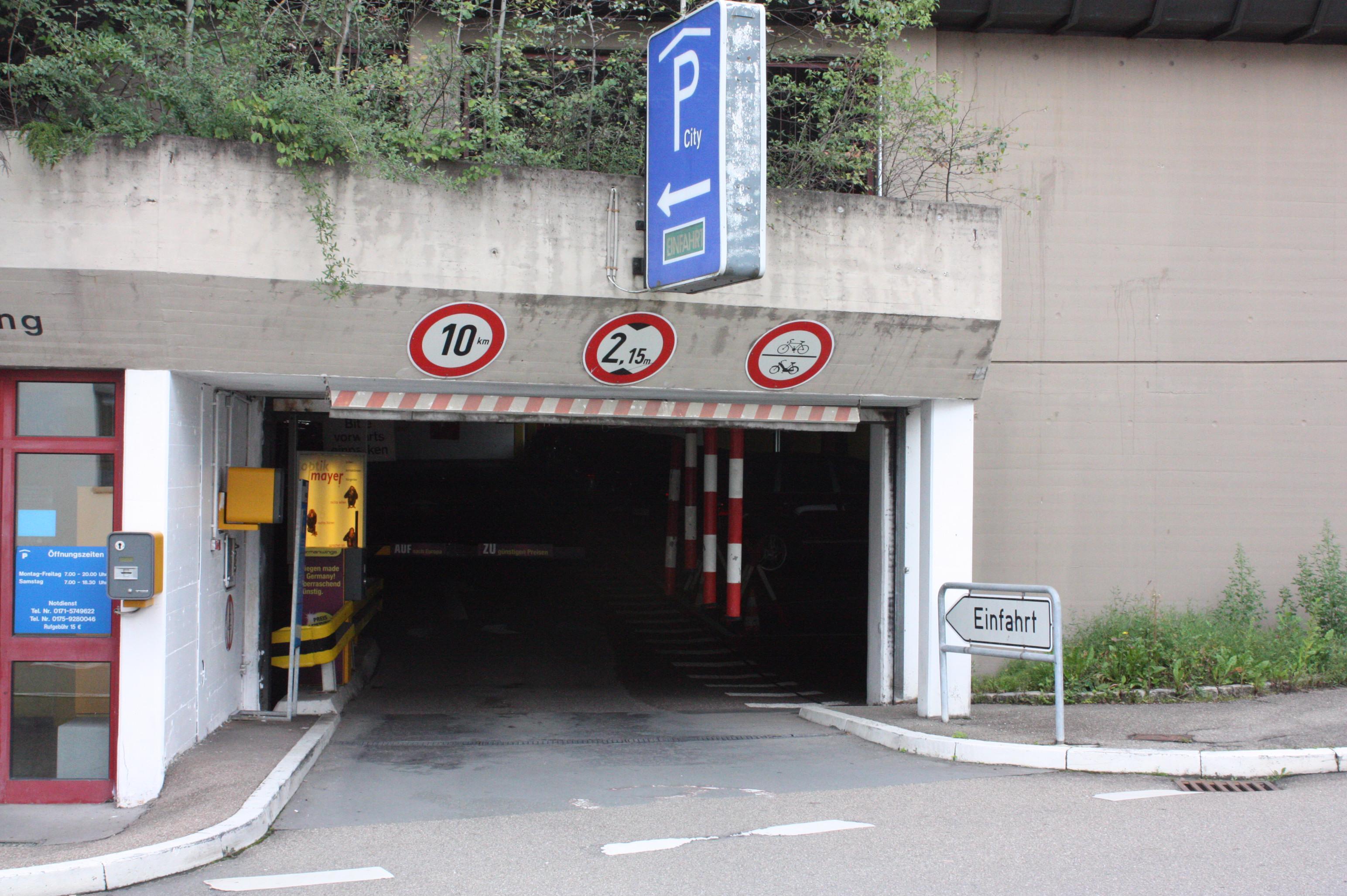 Parken In City Parkhaus Apcoa Parking