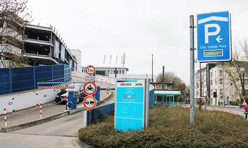 Parkhaus Köln Cäcilienstraße