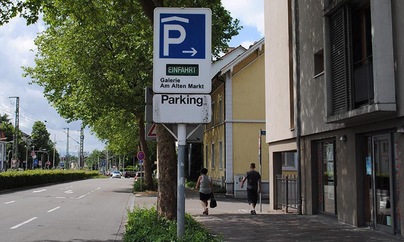 parken in galerie am alten markt apcoa parking. Black Bedroom Furniture Sets. Home Design Ideas