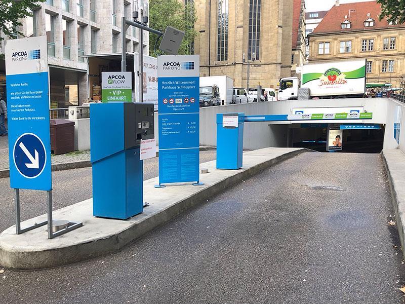 Parken In Schillerplatz Apcoa Parking