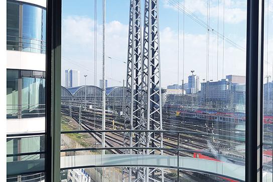 DB Zentrale Frankfurt Hauptbahnhof - Ansicht 1