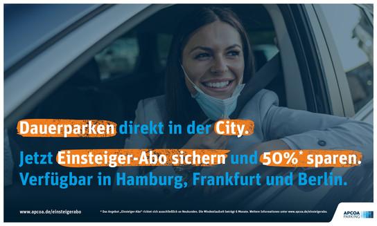 APCOA Dauerparker Einsteiger-Abo