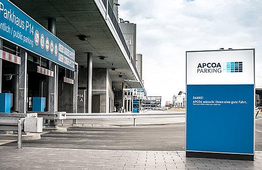 Umbaumassnahmen An Den Parkanlagen Am Flughafen Stuttgart Apcoa Parking